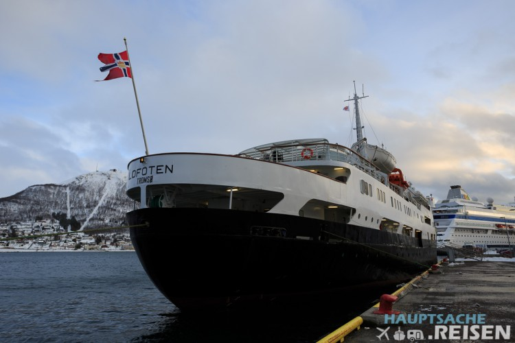 MS Lofoten in Tromso